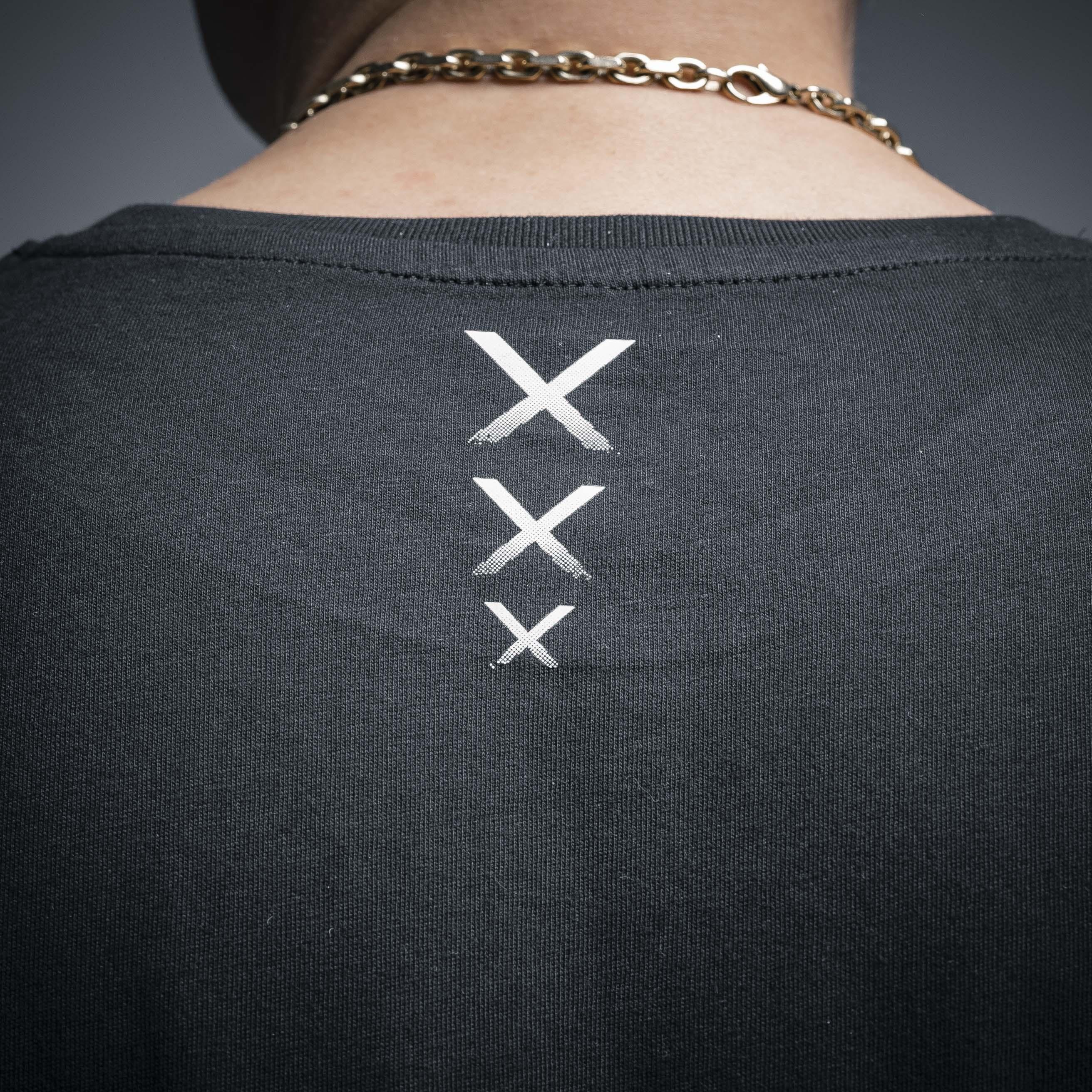 WSHNGTN XXX - LONG TEE BLACK