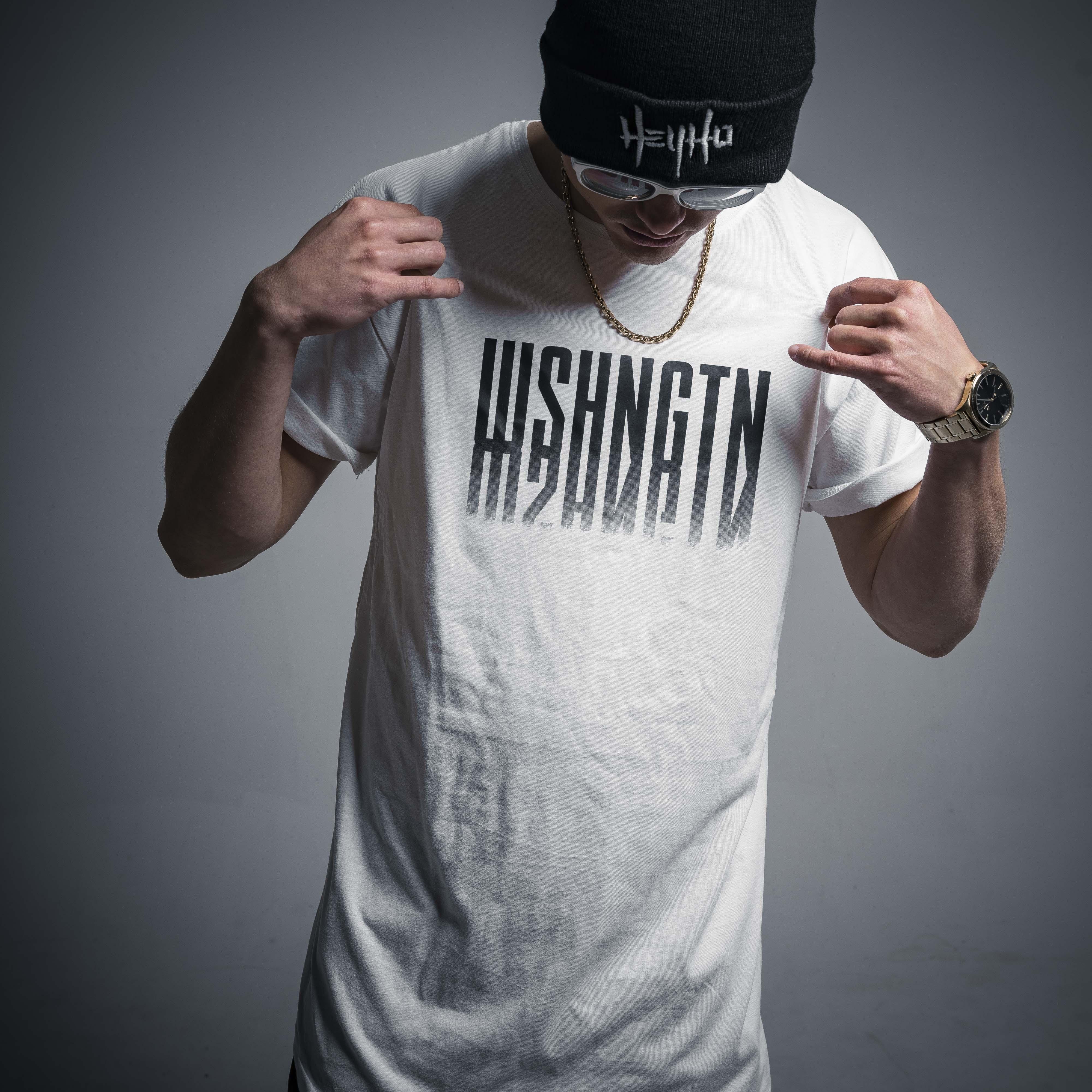 WSHNGTN XXX - LONG TEE WHITE